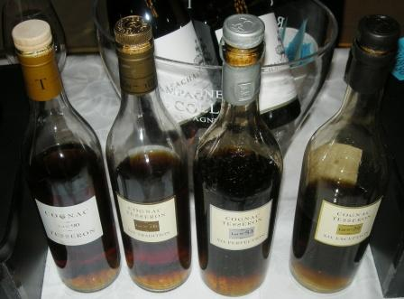 Tesseron Cognac x 4