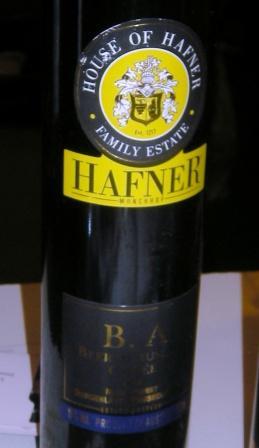 Hafner Beerenauslese