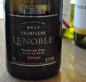 Champagne Lenoble blanc de Noirs 2006