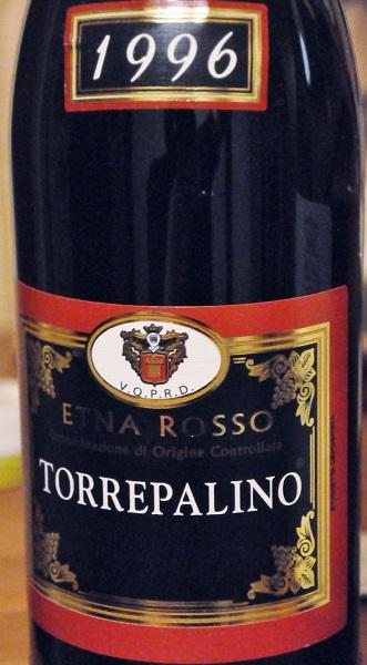 Torrepalino Etna Rosso 1996