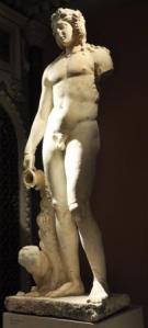 Bacchus föregångare Dionysus