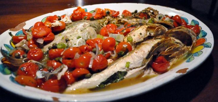 Ristorante La Nicchia fish 2