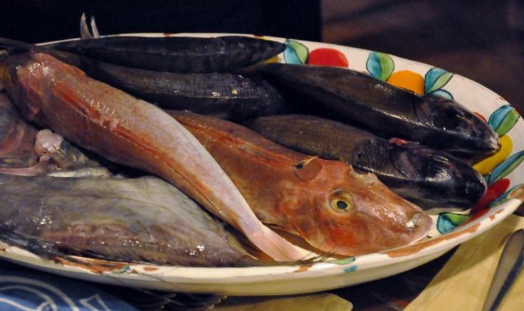 Ristorante La Nicchia fish