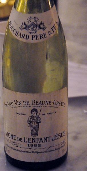 8 Vigne de L'enfant Jesus 1982 Bourgogne Frankrike