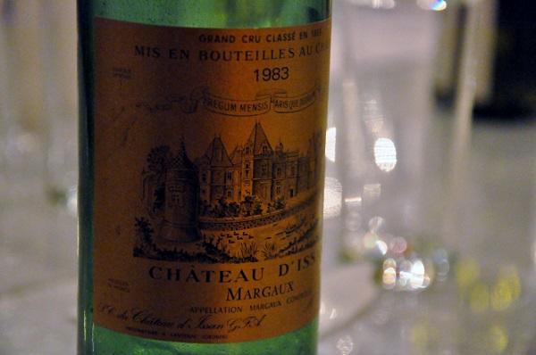9 Chateau D'Issan 1983 Margaux Bordeaux Frankrike