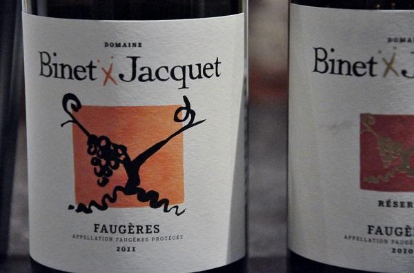 Binet Jacquet Faugères 2011