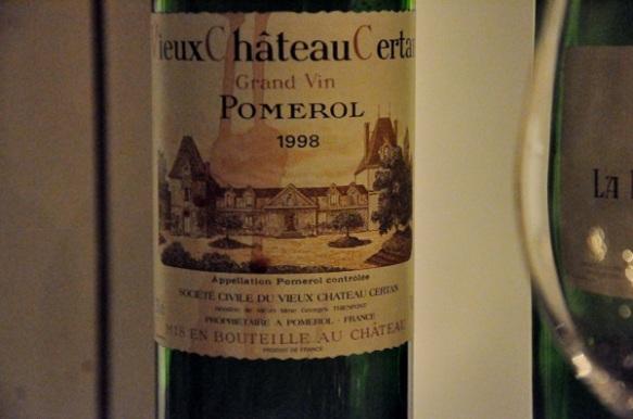 1998 Vieux Chateau Certan