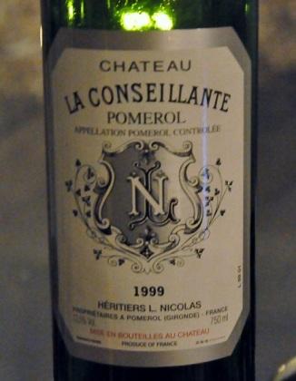 1999 La Conseillante