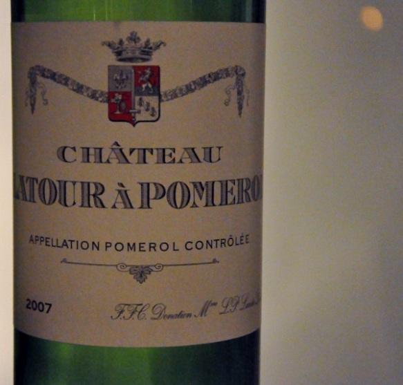 2007 Latour a Pomerol