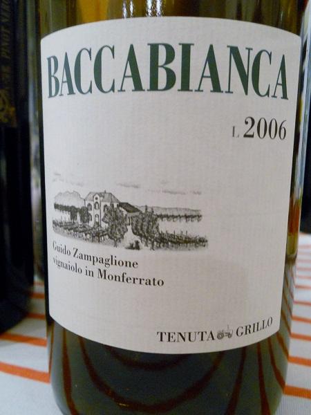 Baccianca 2006 Tenuta Grillo