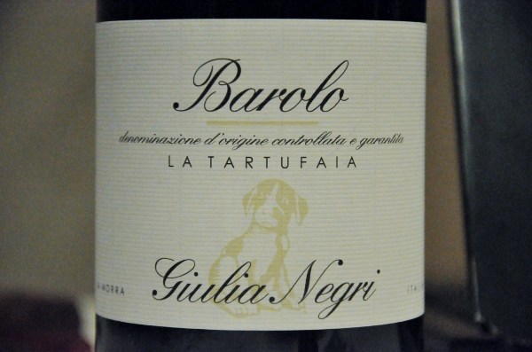 Barolo La Tarufaia Giulia Negri 2008