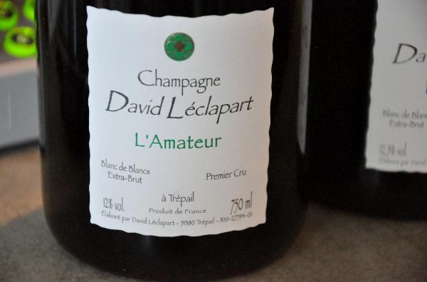 Champagne David Léclapart L'Amateur 2007 BdB