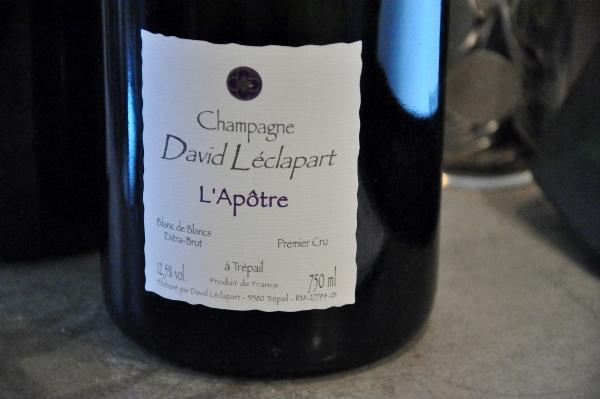 Champagne  David Léclaprt L'Apôtre 2005 BdB PC