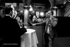Franz Schneider, jag och Peder Molin. Foto: ©Susanne Baldefors 2013