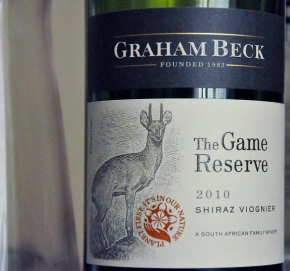 Graham Beck the Game Reserve 2010 Shiraz Viognier