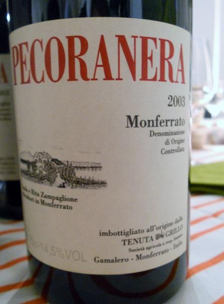 Pecoranera 2003 från Tentua Grillo