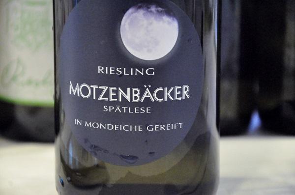 Riesling Motzenbäcker Spåtlses in Mondeiche gereift