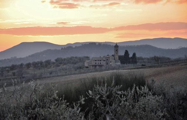 Utsikt över Umbrien