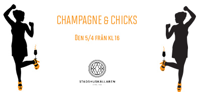 Champagne and chicks