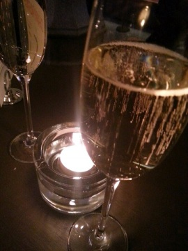 Champagne och chicks