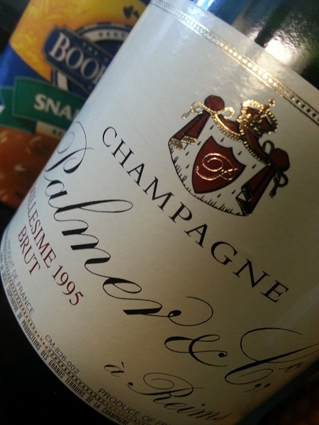 Champagne Palmer & Co Millesime 1995 Brut 3
