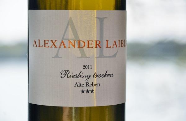 Alexander laible 2011 Riesling trocken Alte Reben 2