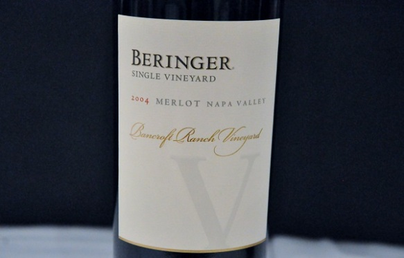 Beringer Bancroft Ranch Napa Valley Merlot 2004 , Napa, USA