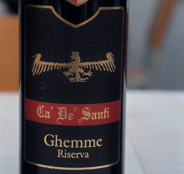 Ca' de' Santi 2003, Il Rubino, Piemonte, Italien