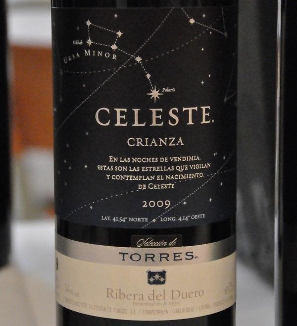 Celeste 2009, Miguel Torres, Ribera del Duero, Spanien
