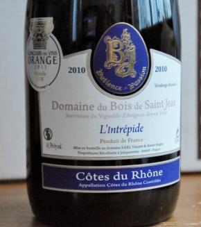 Domaine du Bois de Saint Jean LIntrepide 2010 (531x600)