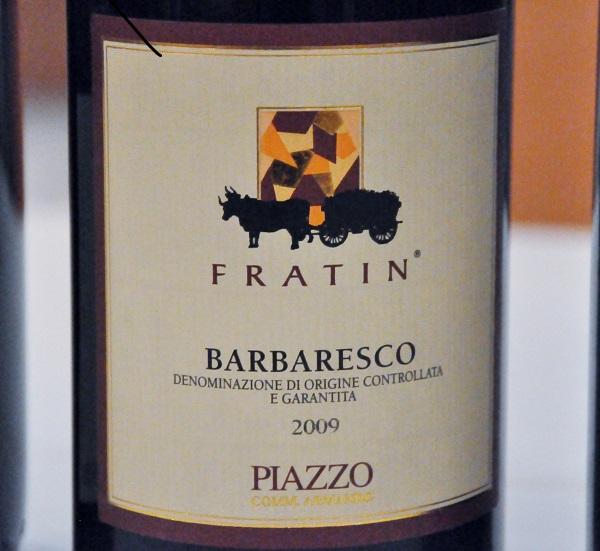 Fratin Barbaresco 2009, Piazzo, Piemonte, Italien