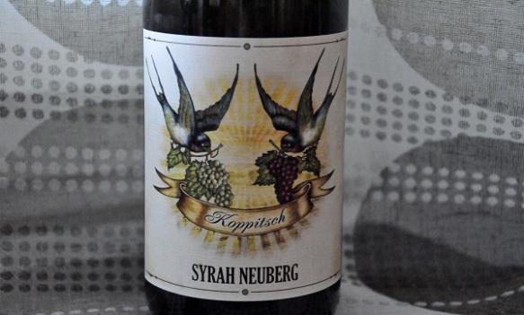 Koppitsch Syrah Neuberg 2011