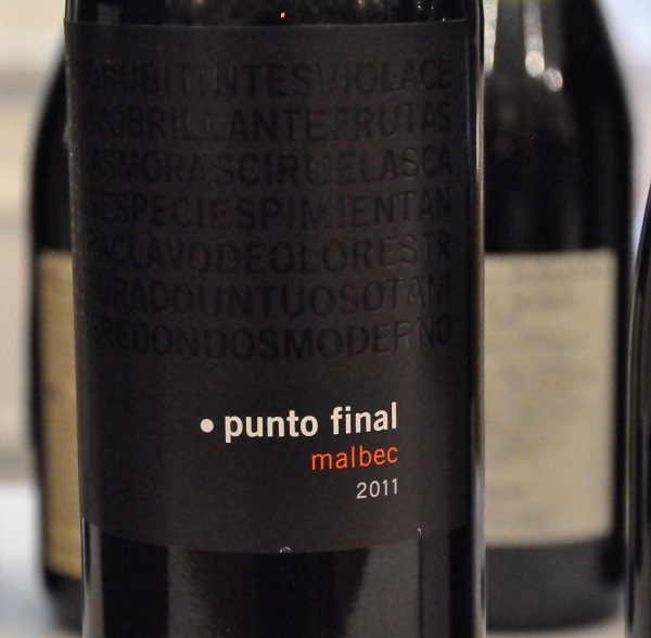 Malbec Punto Final Classico 2011, Medoza, Argentina