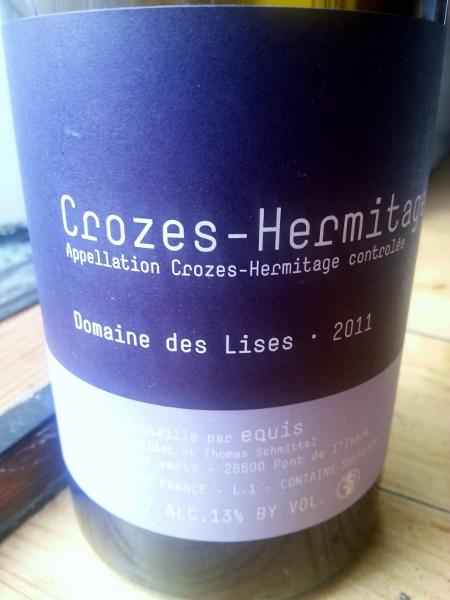 Crozes-Hermitage Domaine des Lises 2011 (450x600)