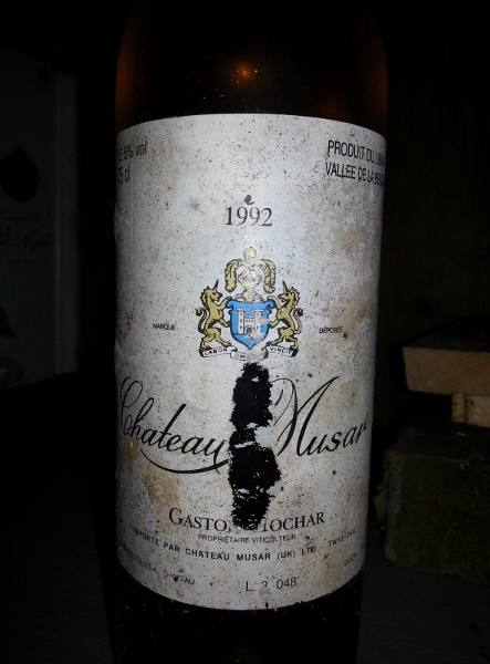 Chateau Musar blanc 1992