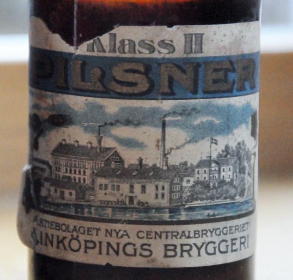 Pilsner klass II Aktiebolaget nya centralbryggeriet Linköpings bryggeri  (600x572)