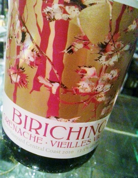 Birichino Grenache Vielles Vignes 2010 (467x600)