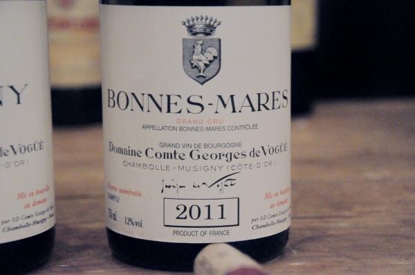 Bonnes Mares Grand Cru 2011  Domaine Comte Georges de Vogue (600x397)