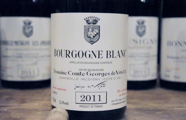 Bourgogne blanc 2011 domaine Comte Georges de Vogue   (600x388)