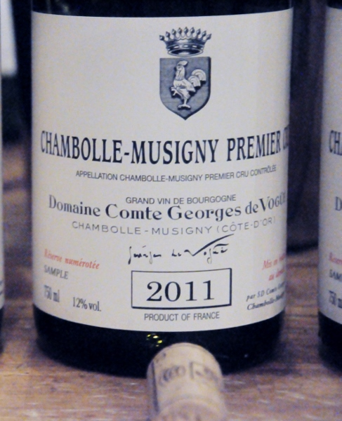 Chambolle Musigny 1er cru 2011 Domaine Comte Georges de Vogue (487x600)