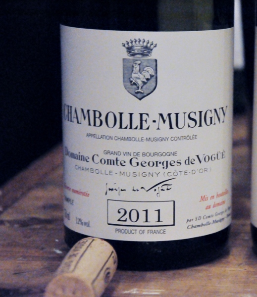 Chambolle Musigny 2011 Domaine Comte Georges de Vogue (519x600)