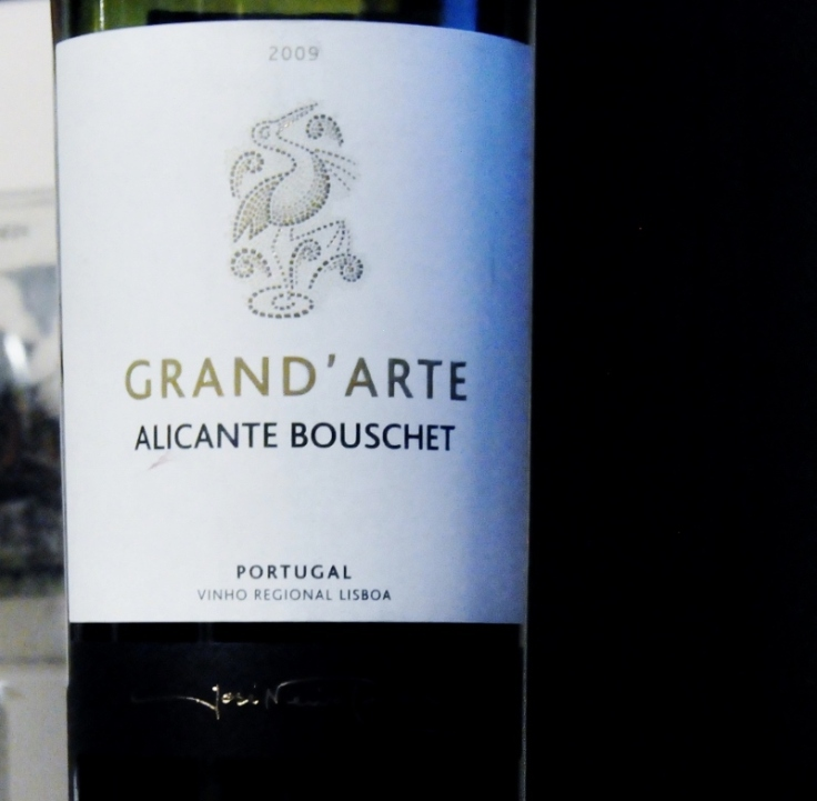 Grand Arte Alicante Bouschet 2009