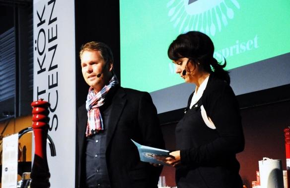 Fredrik Schelin och Alexandra Zazzi ledde prisutdelningen 2013 och gör det också i år.