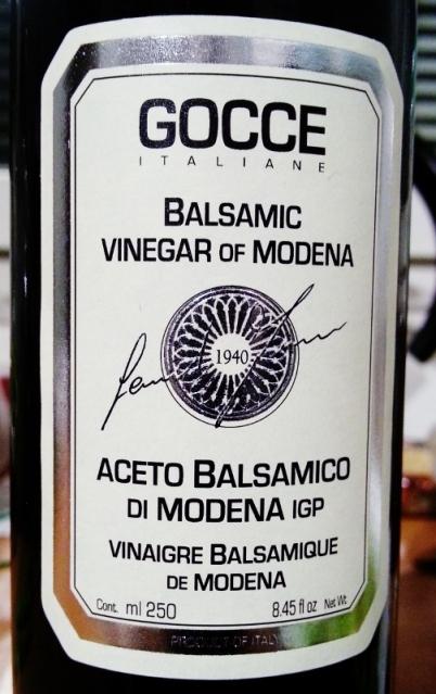 Gocce Balsamic vinegar of Modena (503x800)