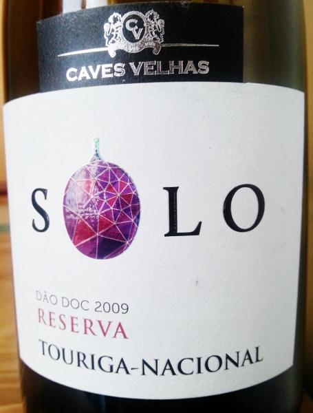 Solo Reserva 2009 Touriga Nacional