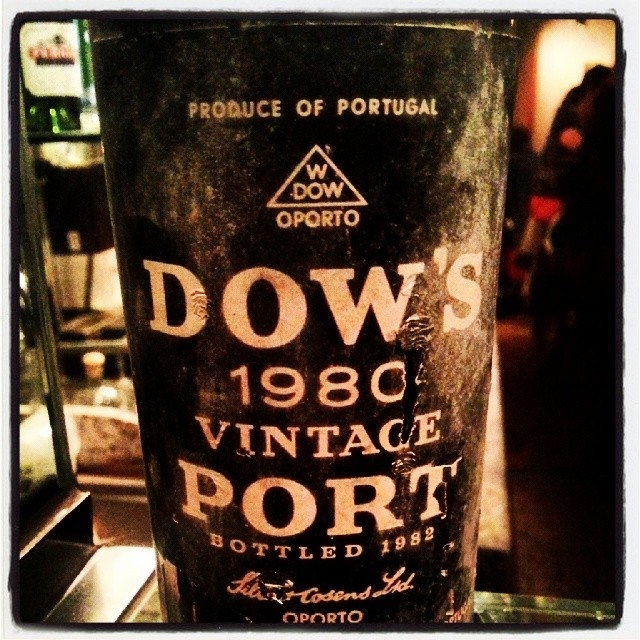 Dows 1980 vintage port