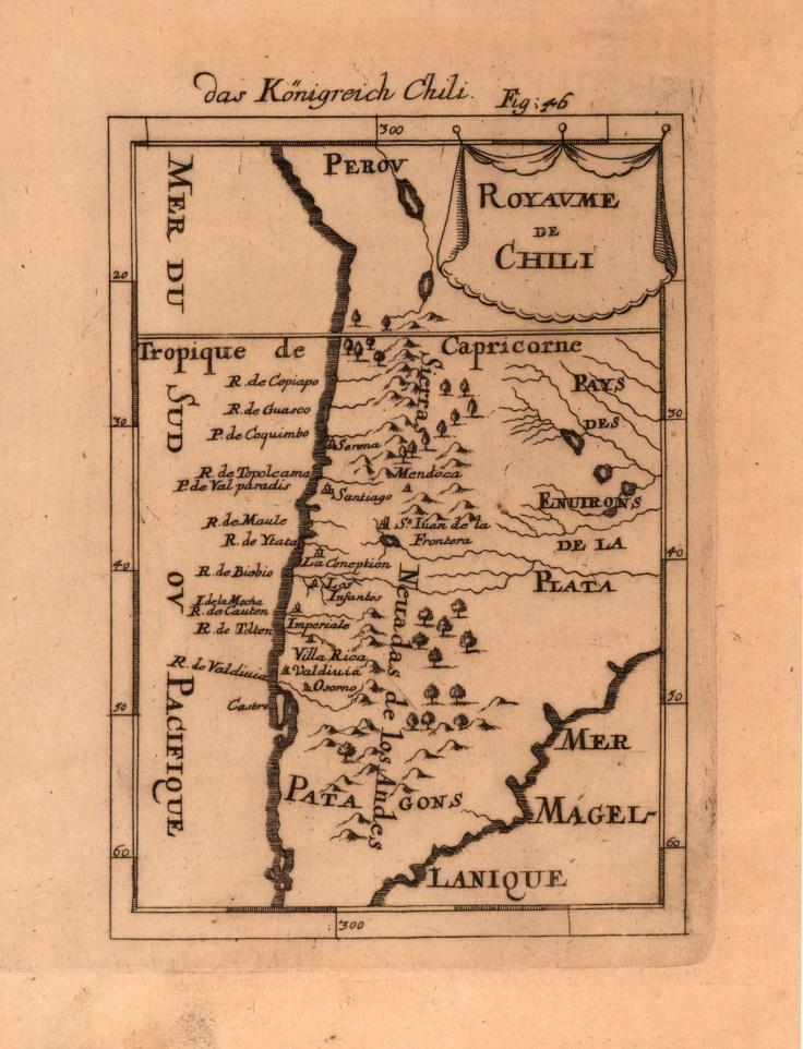Das Königreich Chili, Jean David Zunner, Germany 1686