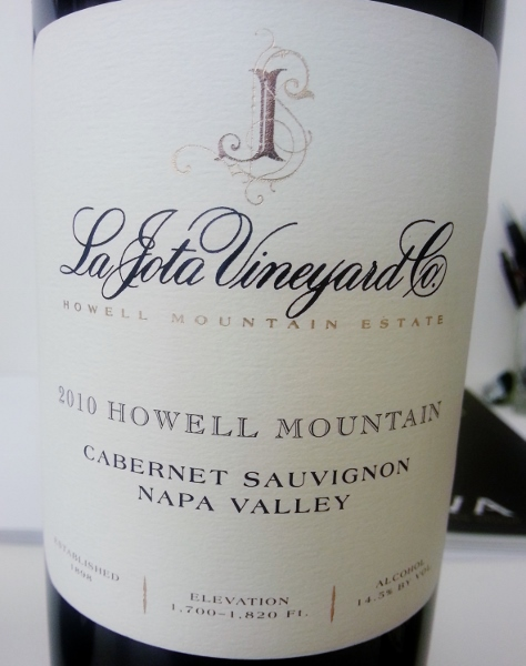 La Jota Vineyard 2010 Howell Mountain (474x600)