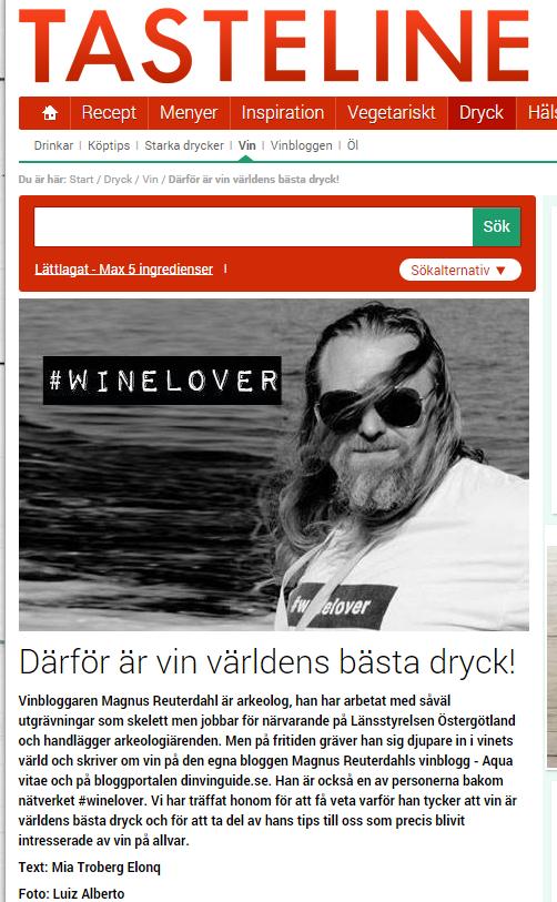 Tasteline Magnus Reuterdahl