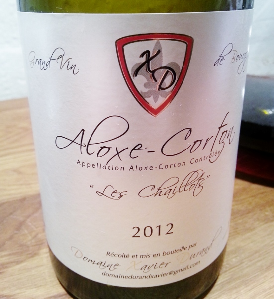 Xavier Durand Aloxe-Corton Les Chaillots 2012 (551x600)